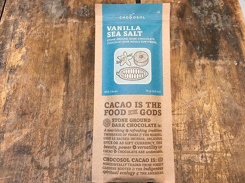 Chocolate - Chocosol - vanilla sea salt