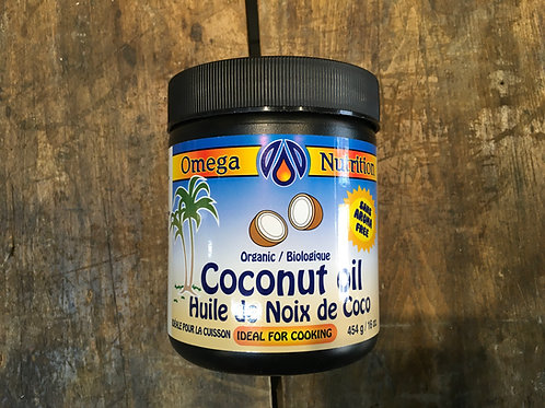 Coconut Oil - Omega nutrition 454 g