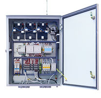 modern electrical control Cabinet with t
