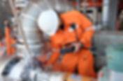 Mechanical engineer measurement of centr