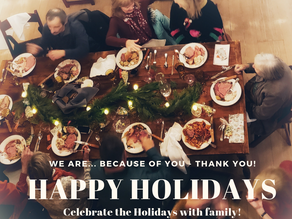 TCNA is because of you – Happy Holidays and Thank You!