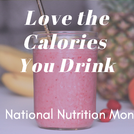 Think Before You Drink – Calories Add Up