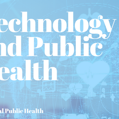 National Public Health: Technology and Public Health