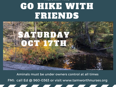 GO HIKE WITH FRIENDS 10/17/2020
