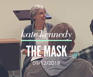 Kate Kennedy - Author Talk - The Mask 09/12/2018