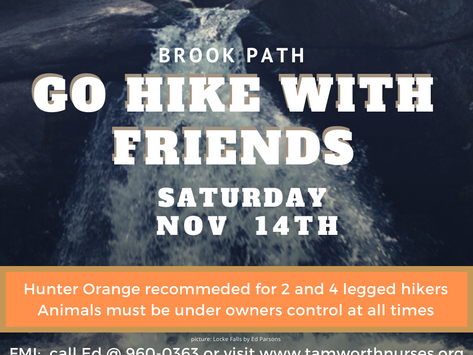 GO HIKE WITH FRIENDS 11/14/20