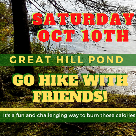 Hike Great Hill Pond 10/10/2020 With Friends