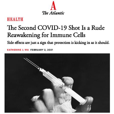COVID-19 Second Shot - The Atlantic