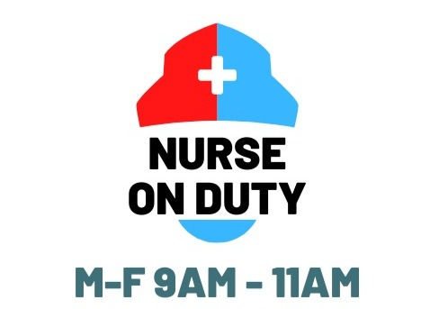 TCNA Nurses On Duty M-F 9am to 11AM