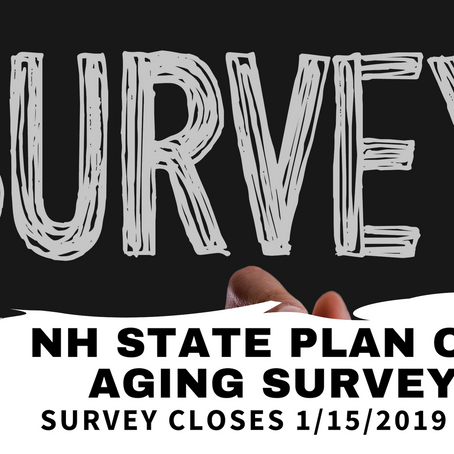 New Hampshire State Plan on Aging SURVEY