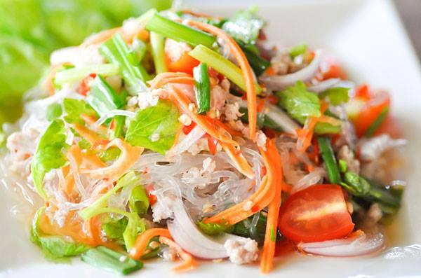 Meet and Eat Thai Glass Noodle Salad