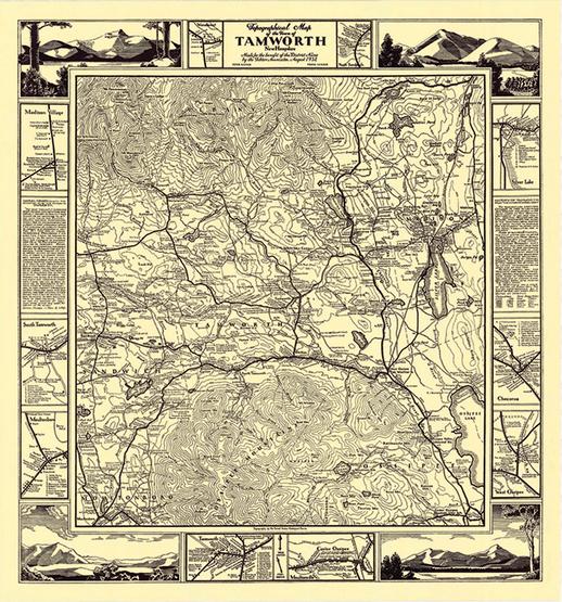 TCNA Historic circa 1932 Map