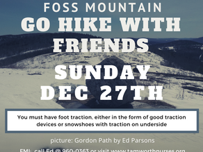 GO HIKE WITH FRIENDS 12/27/20