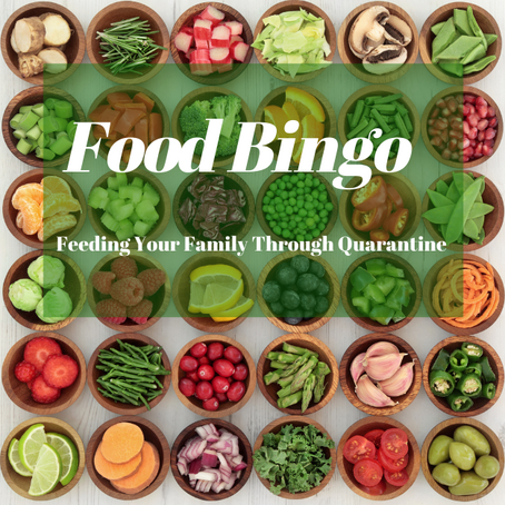 Food  & Fun Bingo 1