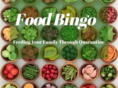 Food  & Fun Bingo 1
