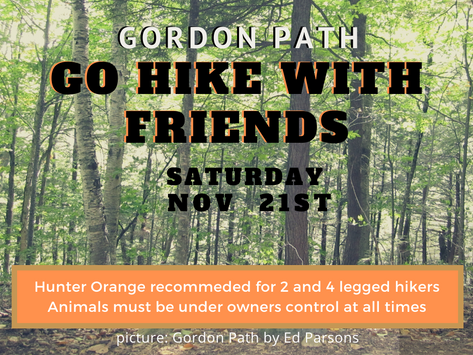 GO HIKE WITH FRIENDS 11/21/20