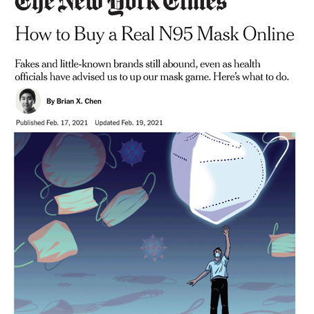 N95 Purchasing Masks Online - New York Times