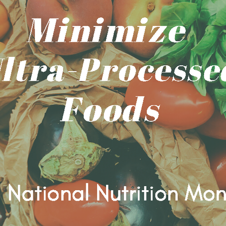 Learn About Ultra Processed Food and Use Less