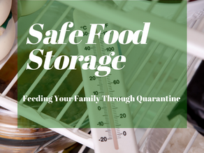 Safe Food Storage - Feeding Your Family