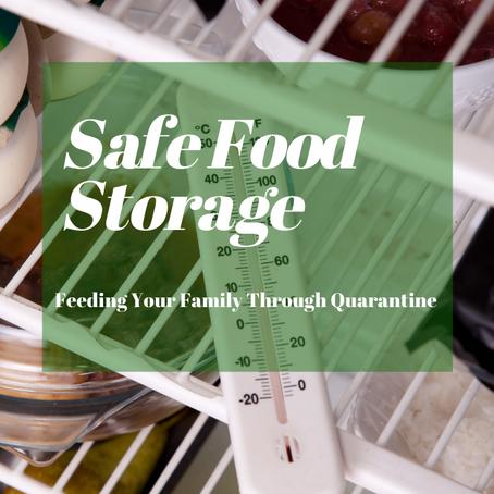 Safe Food Storage - Feeding Your Family