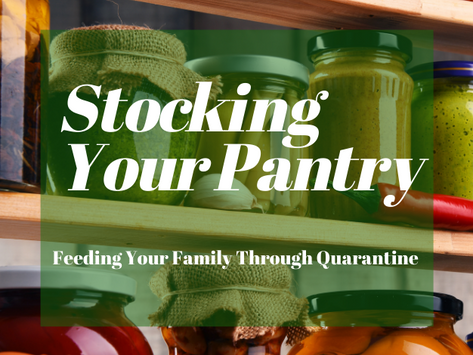 Stock Your Pantry - Feeding Your Family