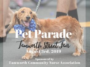 Pet Parade - Tamworth Street Fair