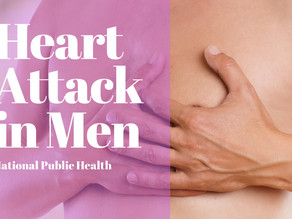 Heart: What are the signs of heart attack in a men?