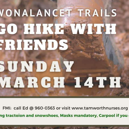 GO HIKE WITH FRIENDS 3/14/2021