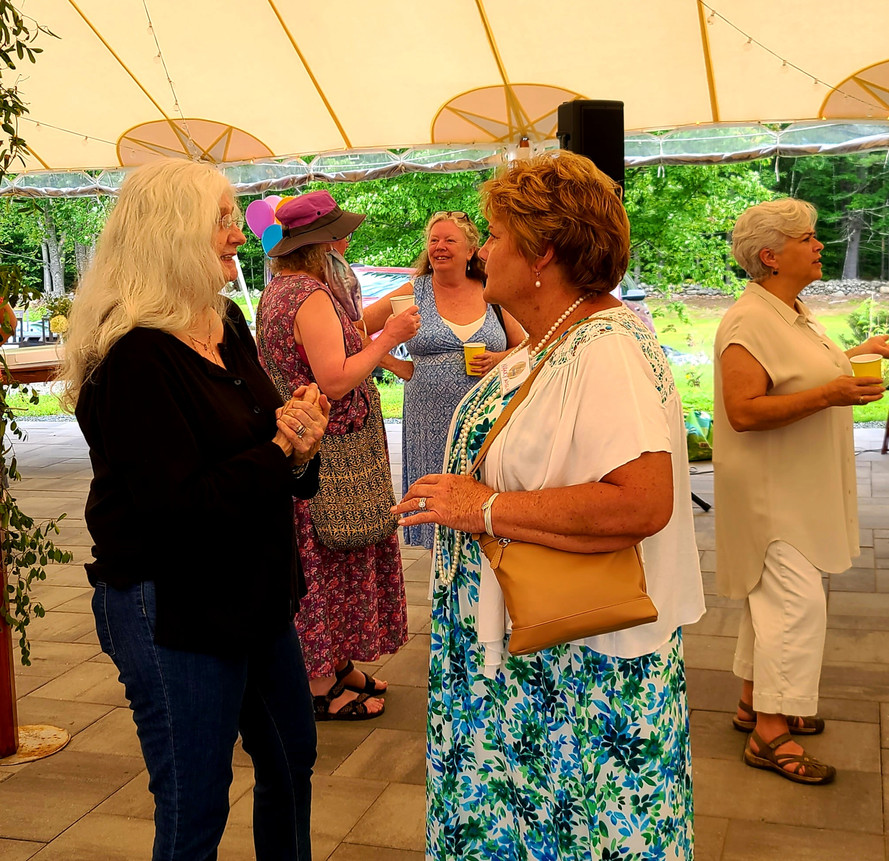 100th Birthday Annual Meeting Pam Hearne Nancy Wiggin Keyes.jpg