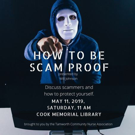 How To Be Scam Proof