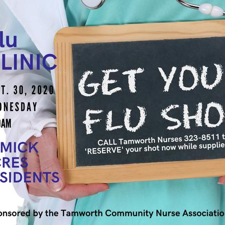 Flu Clinic Remick Acres 9/30/20