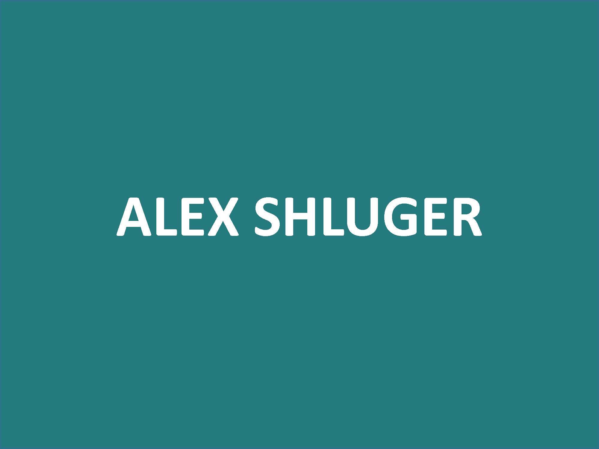 Alex Shluger