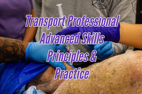 Transport Professional Advanced Skills Principles & Practice