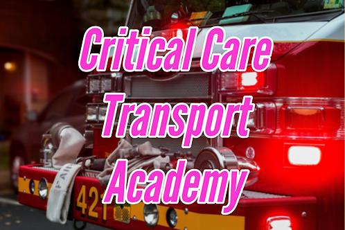 Critical Care Transport Academy