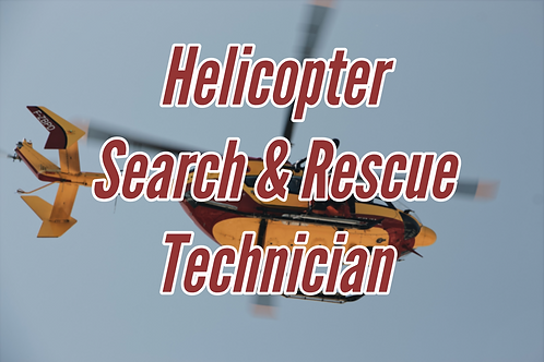 Helicopter Search & Rescue Technician