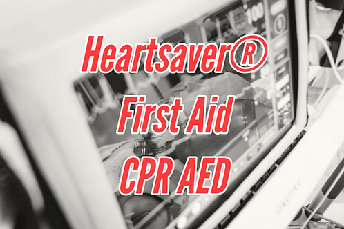 Heartsaver® First Aid CPR AED