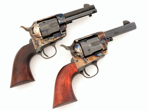 """The Sheriff"" and ""The Posse""EMF's new 3-1/2 inch barrel Single Actions shine 1/2"
