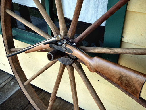 E.M.F. and F.lli Pietta's new 12 ga. Model 1878 Hartford Double Hammer Gun 1 of 2