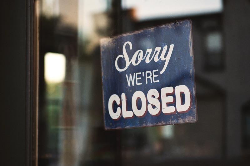 shope closed