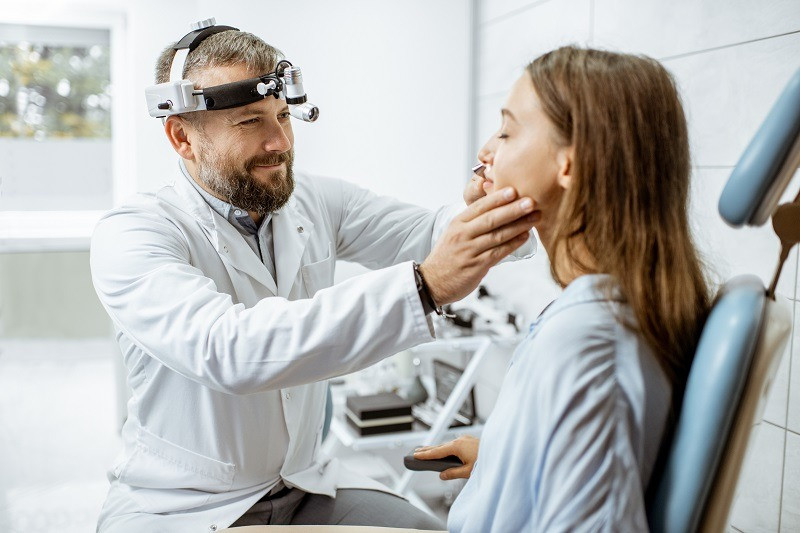 Decongestione nasale otorinolaringoiatria