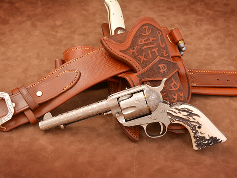 Guns of the OldWest Winter2018 Branded Rounding up the latest Singe Action Army from Taylor's&Co 1/2