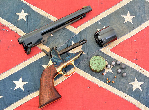 Dixie Gun Works J.H. Dance & Bros. revolver – The Confederacy's 1851 Navy 2 of 2