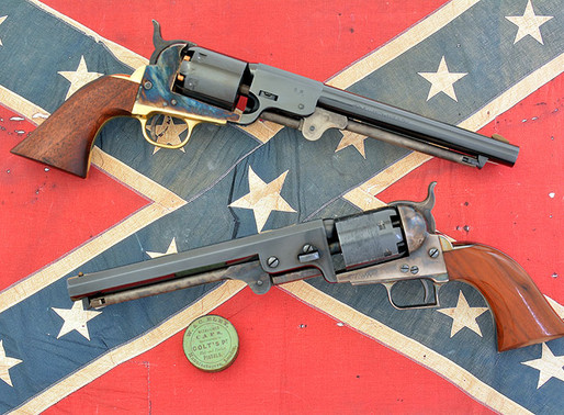 Dixie Gun Works J.H. Dance & Bros. revolver – The Confederacy's 1851 Navy 1 of 2
