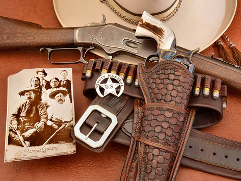 U.S. Deputy Marshal Heck Thomas: Cleaning up the Badlands with a Colt and Winchester 1/2