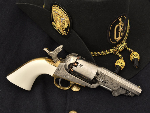 An Unusual 1851 NavyOne of the most prolific sidearms of U.S. soldiers and Militias 1 of 2