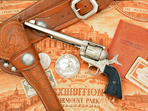 The Art of Engraving: with F.lli Pietta you'll never look at a laser engraved gun the same way! 1of3