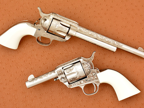 The Art of Engraving: with F.lli Pietta you'll never look at a laser engraved gun the same way! 2of3