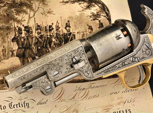 An Unusual 1851 NavyOne of the most prolific sidearms of U.S. soldiers and Militias 2 of 2