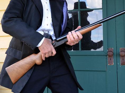 E.M.F. and F.lli Pietta's new 12 ga. Model 1878 Hartford Double Hammer Gun 2of2
