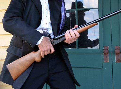 E.M.F. and F.lli Pietta's new 12 ga. Model 1878 Hartford Double Hammer Gun 2of2